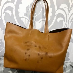 Tom Ford Perforated Leather Tote